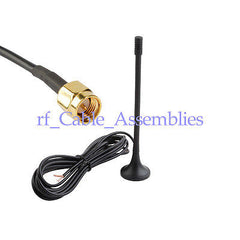 3.5dbi GSM/UMTS 3G SMA antenna magnetic base for USB Modems Maxon Turbo II III