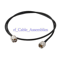 WLAN Antenna KSR195 Jumper Coax Cable PL-259 UHF male to plug Coaxial cable 50cm
