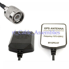 Mini-GPS Active Antenna TNC plug connector 2M/3M/5M
