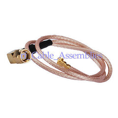 RP-SMA Plug male right angle to IPX/u.fl pigtail cable RG178 20CM for Wireless