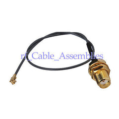 IPX / u.fl to SMA female pigtail, 50 Ohm ,Cable IPX1.13 cable 15cm