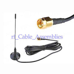 Digital Freeview 5 dBi Antenna Aerial SMA for DVB-T TV HDTV 5M cable