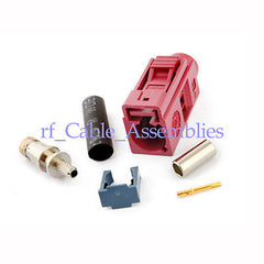 Fakra crimp Jack connector Violet Car GSM Cellular phon