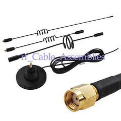 10DBi 3G antenna with RP SMA male plug connector for HuaWei Express