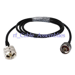 N male to UHF PL-259 plug male pigtail coax cable for Wireless Antenna KSR195 1M