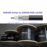 Low Loss RF Coaxial Cable KSR400/RG8 Wifi Wireless 20M free shipping