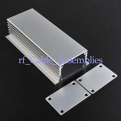 10x Aluminum Box Enclousure Case Project electronic DIY 28x43x110mm