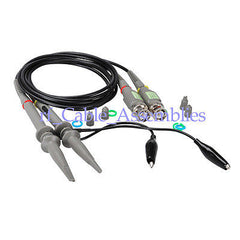 Oscilloscope BNC Q9 Clip Probe Test (2 pcs) 20MHz  1X / 10X