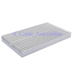 100x60x10mm Aluminum Heatsink for Electronics Computer Electric equipment