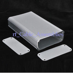 White Aluminum Box Enclosure Electronic Case DIY -4.33 *2.60 *0.94 (L*W*H)