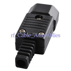 2x IEC C14 rewirable connector, IEC C14 plug male 10A 250V NEW HOT Sells