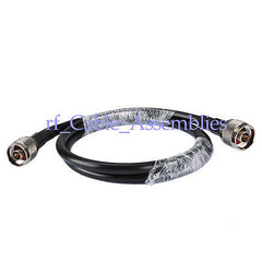 Superbat 3 ft KSR400 Antenna Coax Patch Cable N Male to Plug Connectors 1M WLAN Antenna