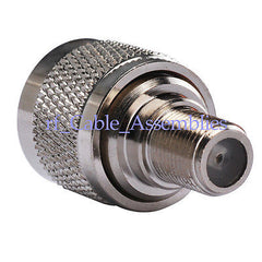 F-UHF Adapter F female to UHF PL-259 male flange/panel f router