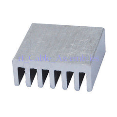20pcs 14x14x6mm High Quality Aluminum Heat Sink Laptop Notebook Computer