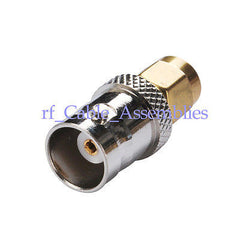 15 SMA male to BNC female RF Coaxial adapter connector