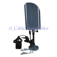 230-860MHZ Digital DVB-T/DMB-T Antenna 20dbi WITH AMPLIFIER UHF/VHF
