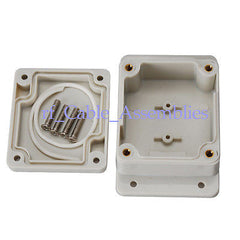Waterproof Plastic Box Enclosure Case DIY -3.54 *2.28 1.38 (L*W*H) junction box