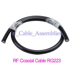 10FT RF cable RG Series MIL-C-17 Coaxial Cable RG223/U-60-11 RG-233/u 50ohm NEW