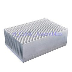 100x69x36mm High Fan Aluminum radiator Heat Sink for LED and Power IC Transistor