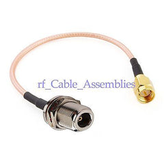 N Jack to SMA Plug pigtail Cable RG316 for wifi antenna