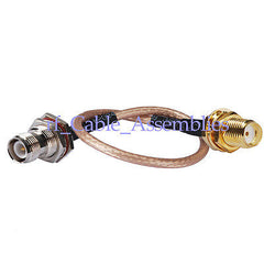 RP-TNC female male pin to SMA female RF pigtail Cable RG316 for wifi antenna