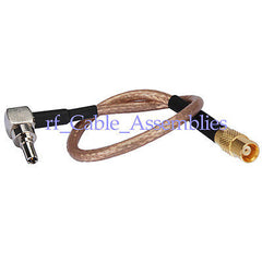 CRC9 male RA to MCX Jack straight pigtail cable