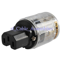 Brand NEW IEC 320 C15 Audio plug, C15 rewirable connector.C-029