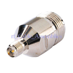 15 RF connector adapter RP-SMA to N female for wireless wifi router