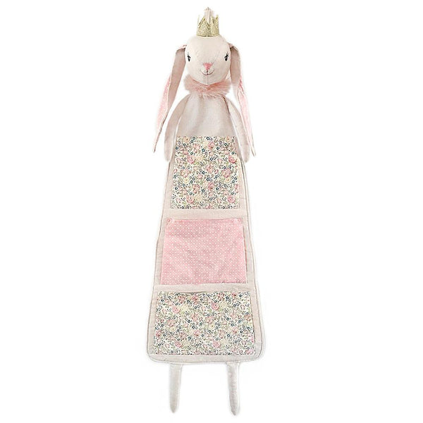 PRINCESS BUNNY FABRIC HANGING ORGANIZER