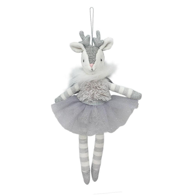 REINDEER ANGEL DOLL ORNAMENT