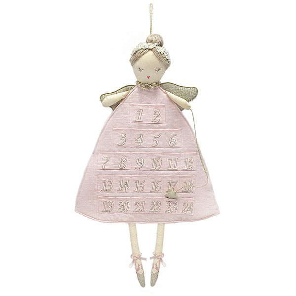 Mon Ami Sugar Plum Ballerina Advent Calendar, 26 in