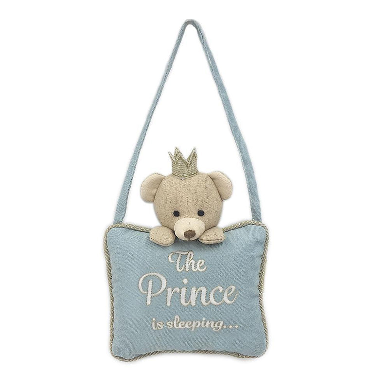 THE PRINCE IS SLEEPING DOOR HANGER