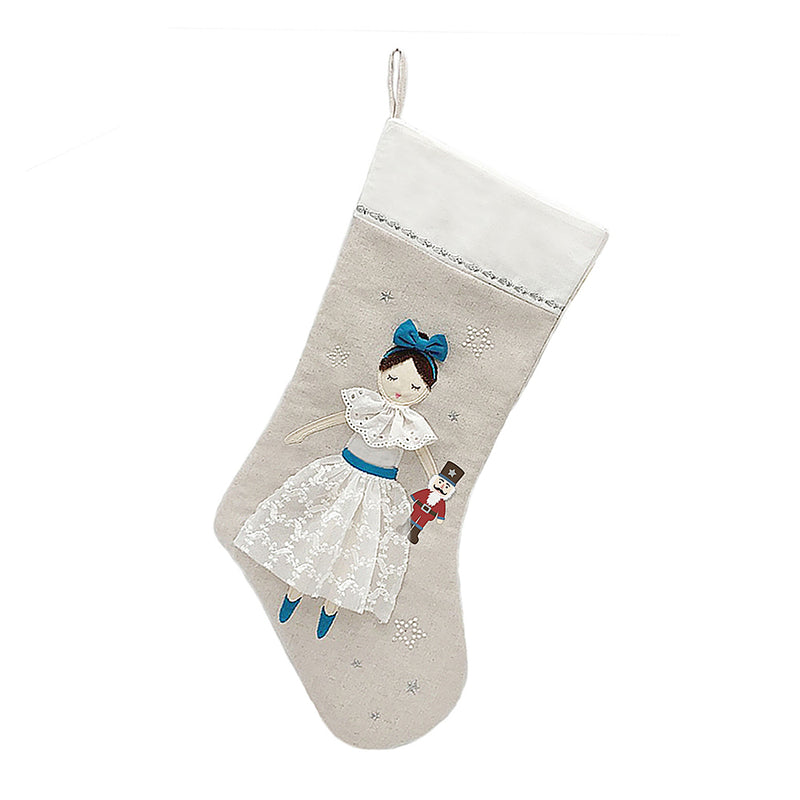 CLARA NUTCRACKER THEMED STOCKING