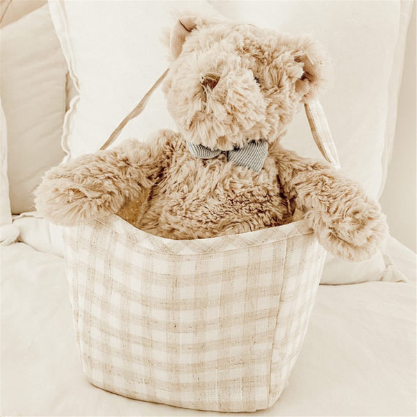 'BALDWIN' HEIRLOOM TEDDY BEAR PLUSH TOY