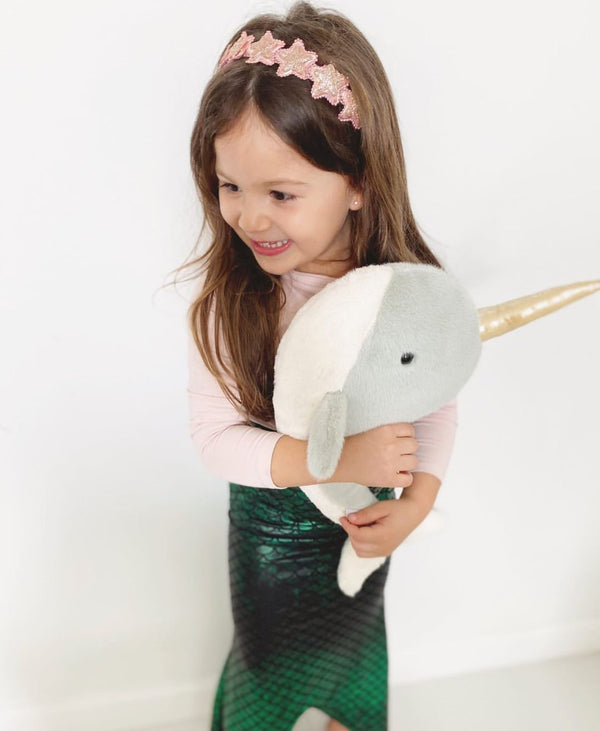 NARWHAL PLUSH TOY 'NICO'