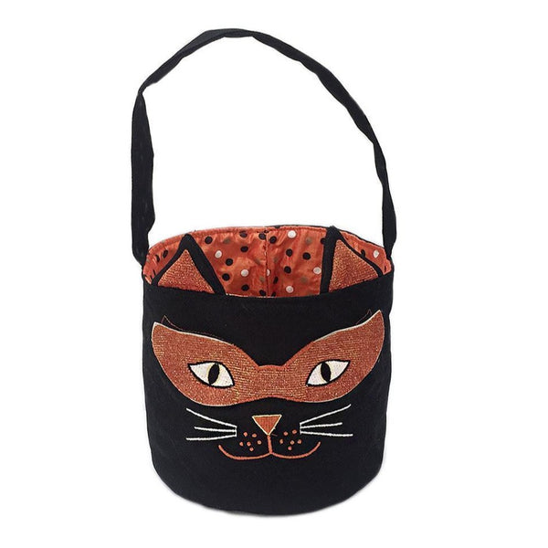 MON AMI Cat Halloween Candy Bag, 8 in
