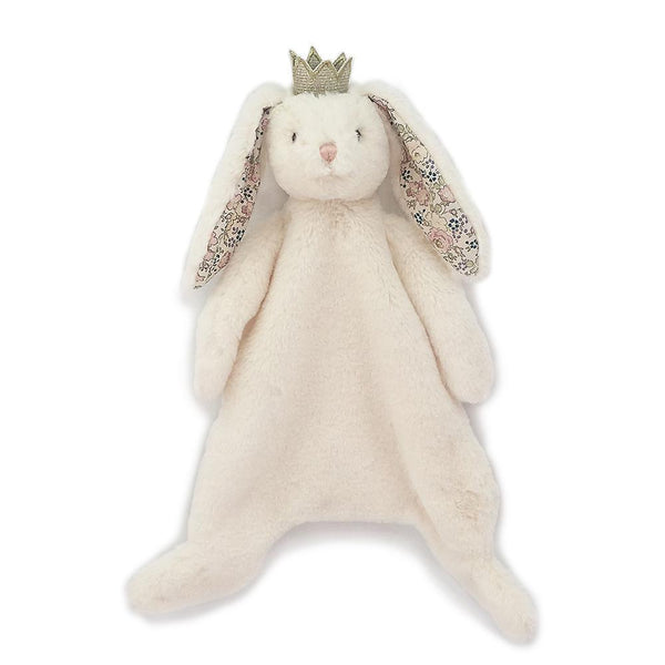 PRINCESS BUNNY BABY SECURITY BLANKET 'FAITH'