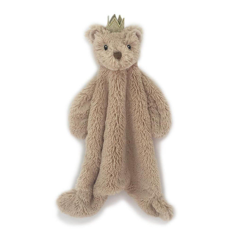 PRINCE BEAR BABY SECURITY BLANKET