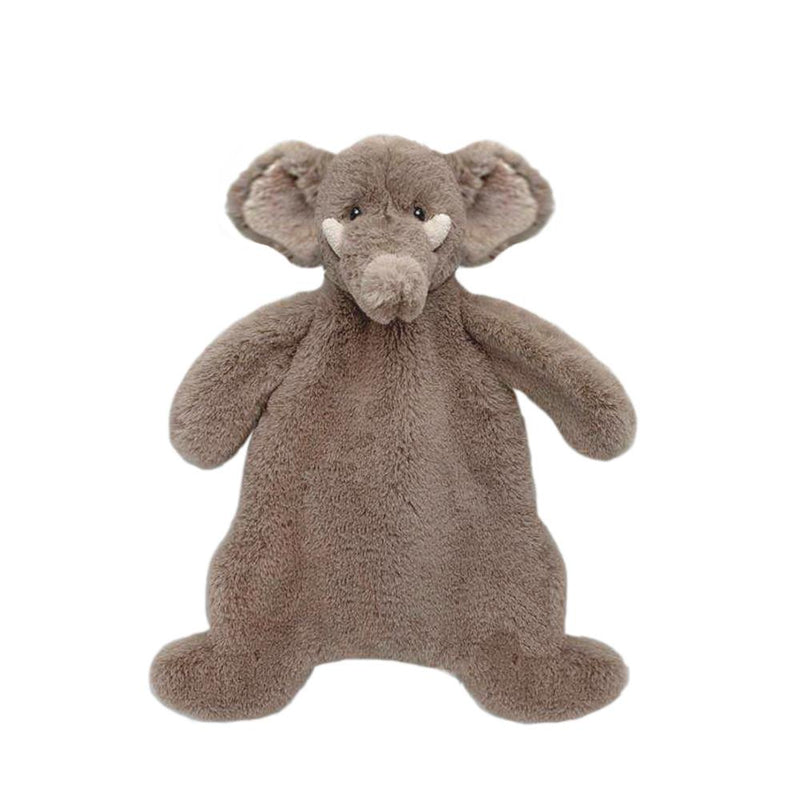 'OLIVER' ELEPHANT PLUSH BABY SECURITY BLANKET