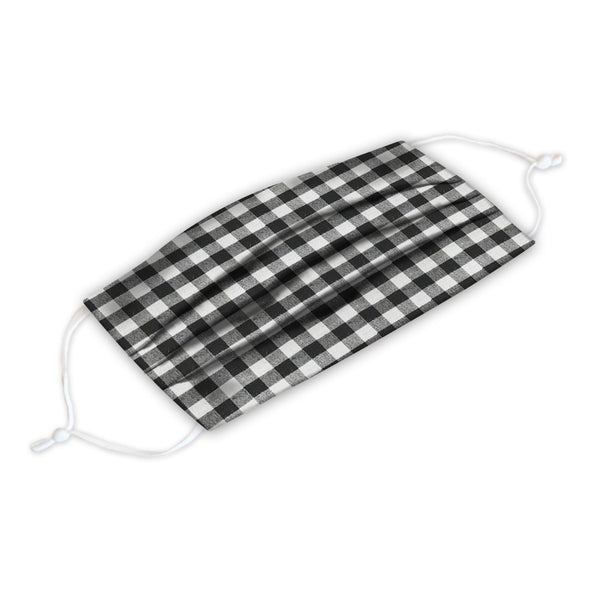 Gingham Adult Face Cover 2 Pack Set