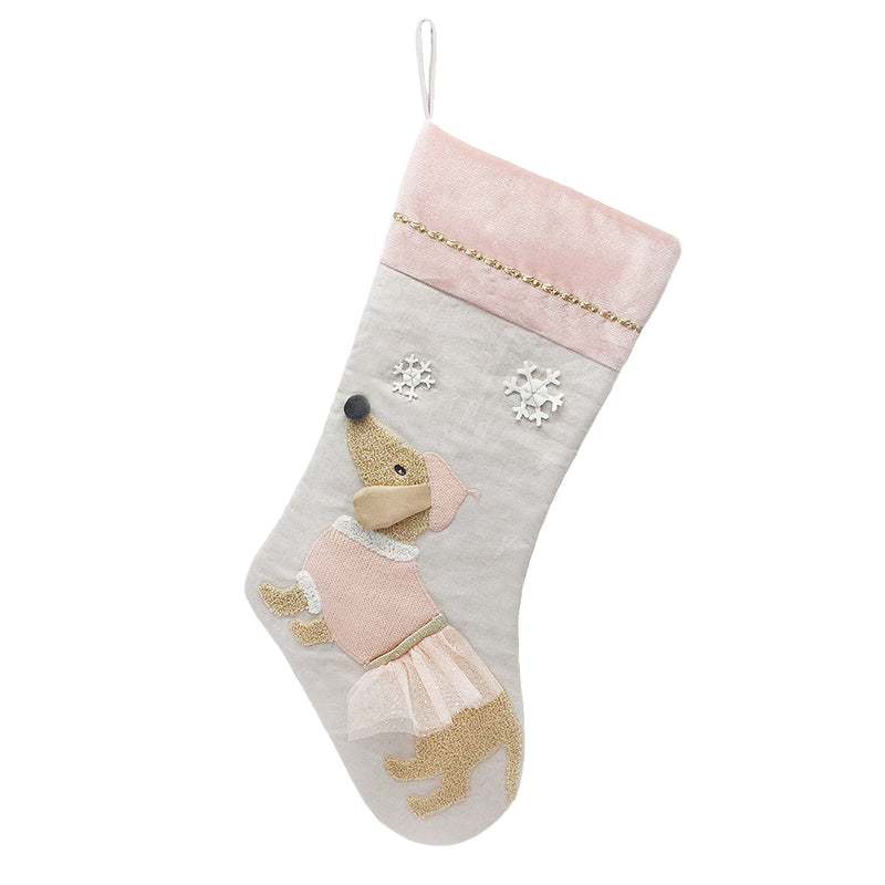 MON CHERI DOG STOCKING