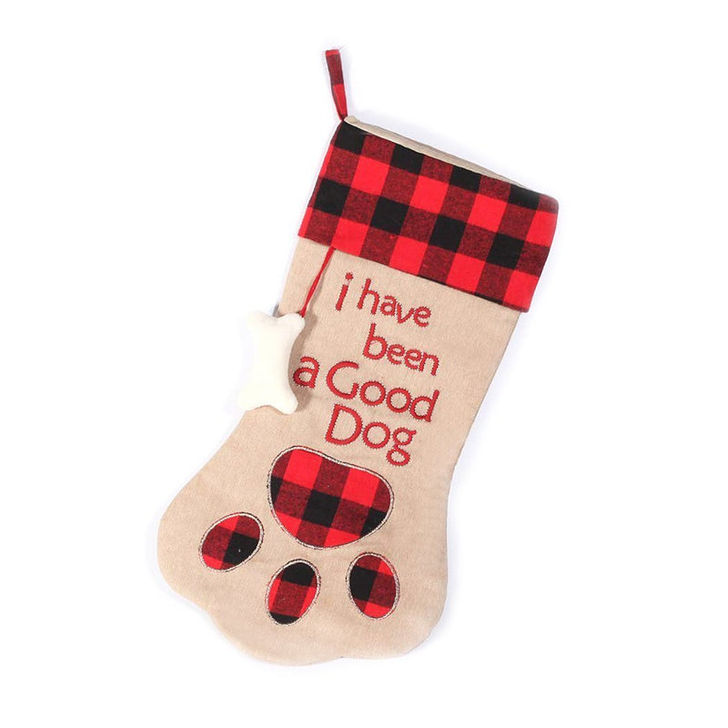 GOOD DOG PET CHRISTMAS STOCKING