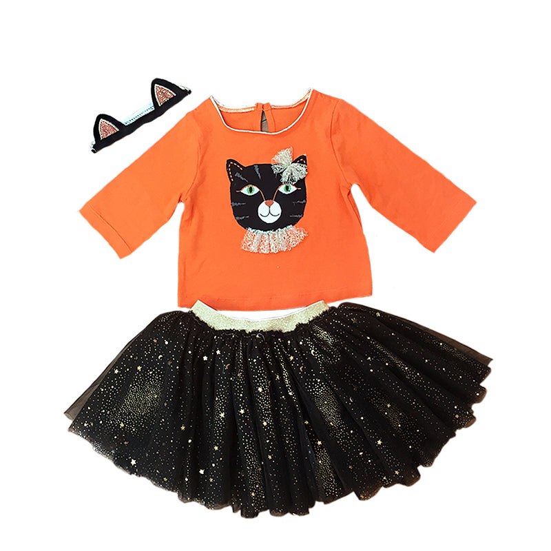 Purrfect Halloween 3 PC Tutu Set