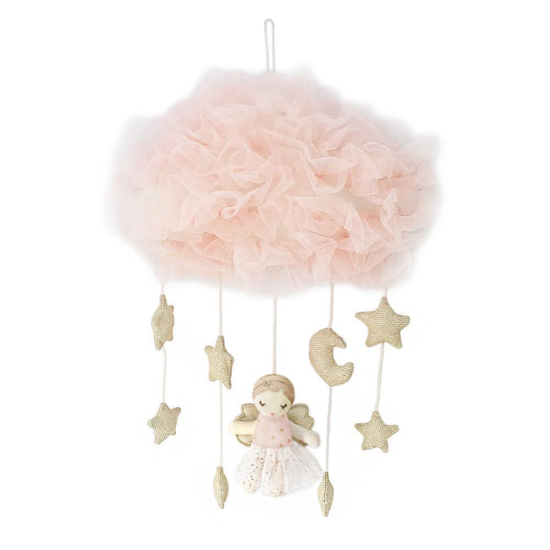 PINK ANGEL CELESTIAL MOBILE