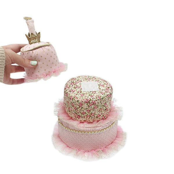 THE 'MARIE ANTOINETTE' CAKE STACKER PLUSH TOY
