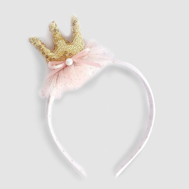 Mon Ami Sequin Crown Headband