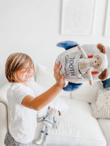 SPACESHIP 'TOOTH COMMANDER' PILLOW AND DOLL