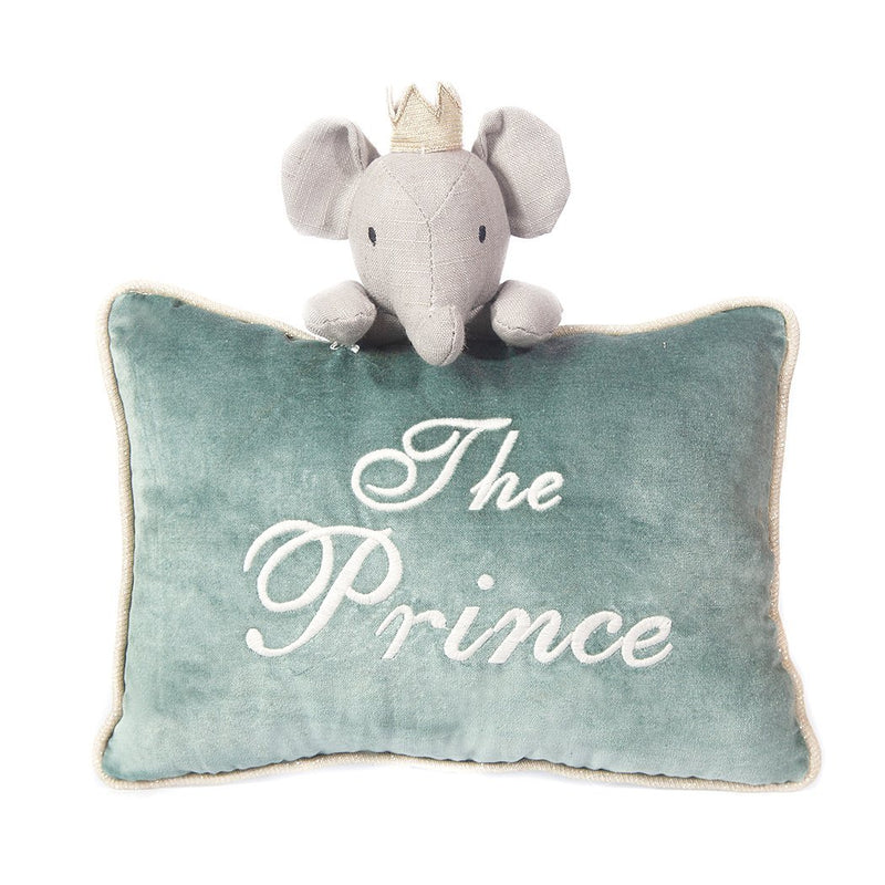 'THE PRINCE' ACCENT PILLOW 'ELROY THE ELEPHANT'