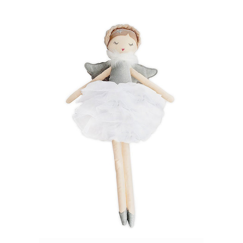 'ADELE' SMALL SILVER ANGEL HEIRLOOM DOLL
