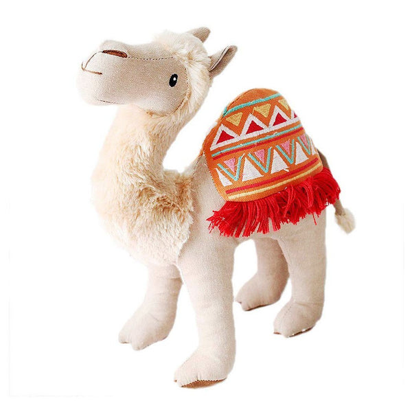 'CADEN' CAMEL STUFFED ANIMAL